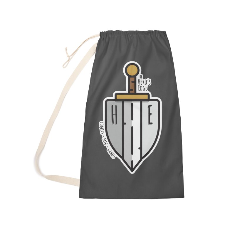 The Hero's Edge Sword & Shield Accessories Laundry Bag Bag by The Hero's Edge