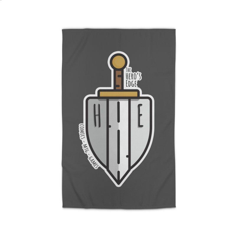 The Hero's Edge Sword & Shield Home Rug by The Hero's Edge