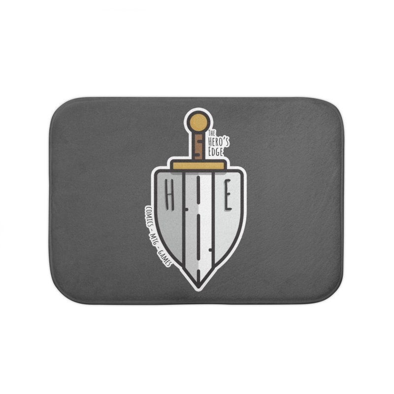 The Hero's Edge Sword & Shield Home Bath Mat by The Hero's Edge