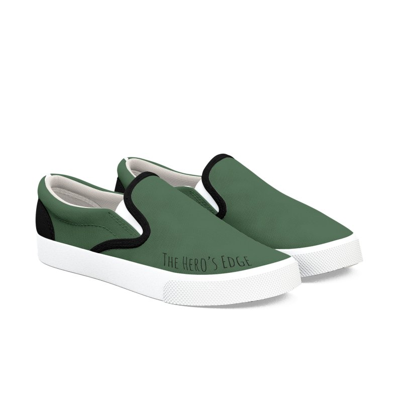 Greenshoes - The Hero's Edge Men's Slip-On Shoes by The Hero's Edge