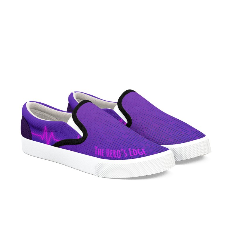 Tokyo Beatz -The Hero's Edge Men's Slip-On Shoes by The Hero's Edge