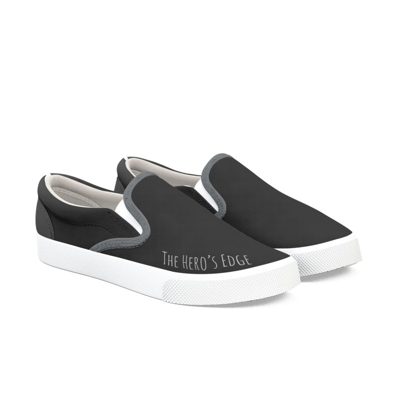 SmokeScreen - The Hero's Edge Men's Slip-On Shoes by The Hero's Edge
