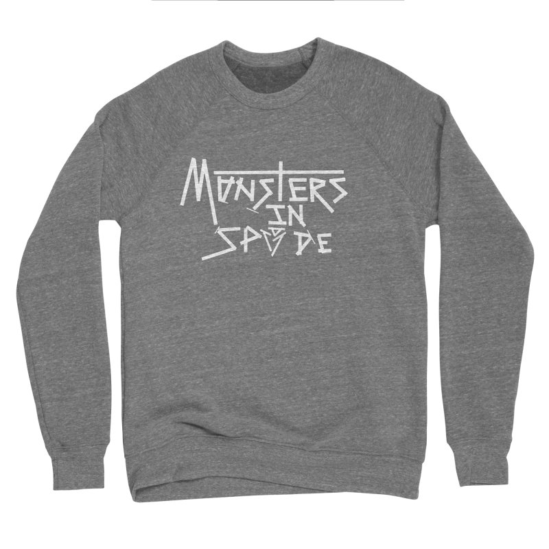 Monsters in Spade Logo Men's Sweatshirt by The Hex Mob Fam Welcomes You