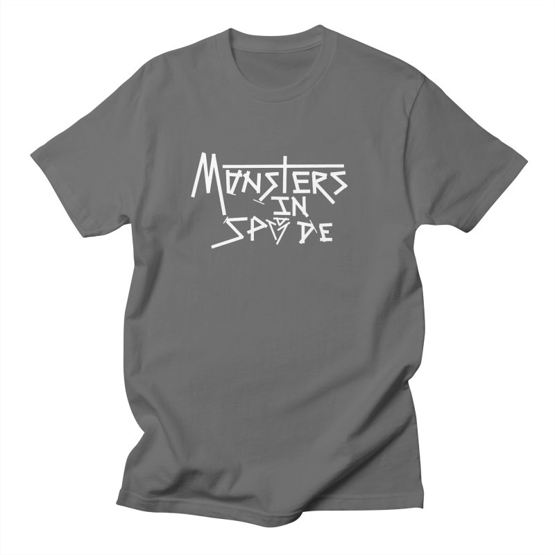 Monsters in Spade Logo Men's T-Shirt by The Hex Mob Fam Welcomes You