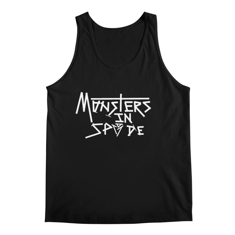 Monsters in Spade Logo Men's Tank by The Hex Mob Fam Welcomes You