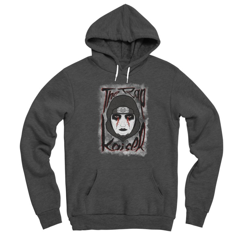 The Rap Kaiser (Face Paint Cartoon) Men's Pullover Hoody by The Hex Mob Fam Welcomes You