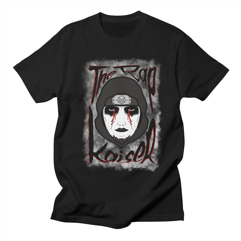 The Rap Kaiser (Face Paint Cartoon) Men's T-Shirt by The Hex Mob Fam Welcomes You