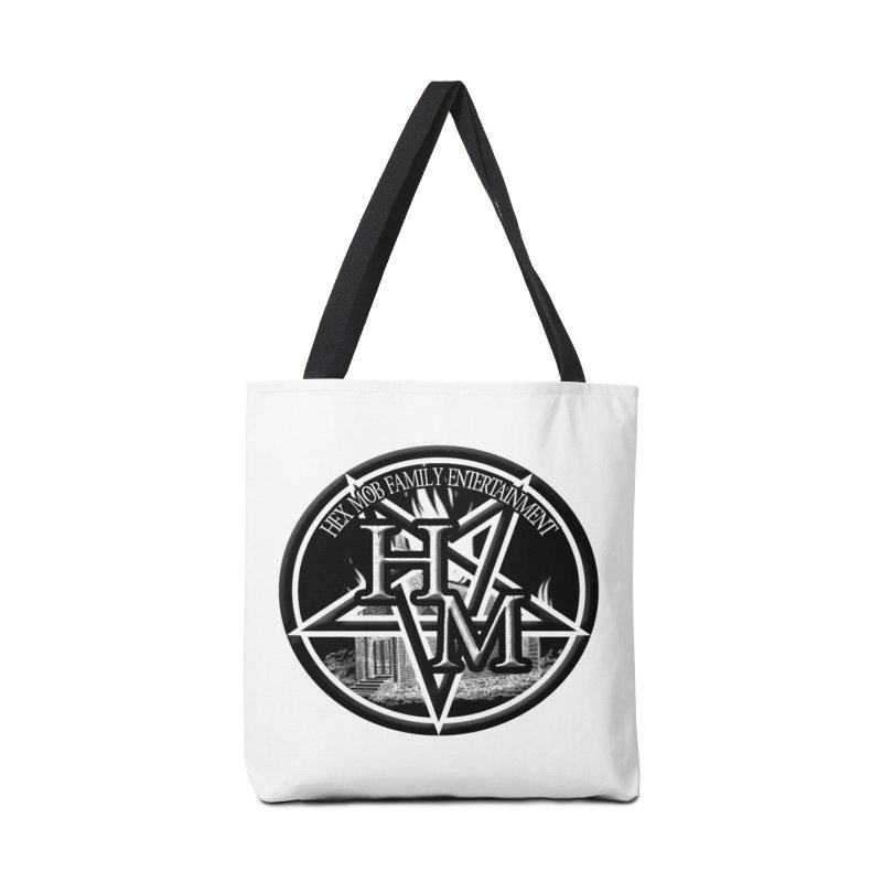 Hex Mob Family Entertainment Logo Accessories Bag by The Hex Mob Fam Welcomes You