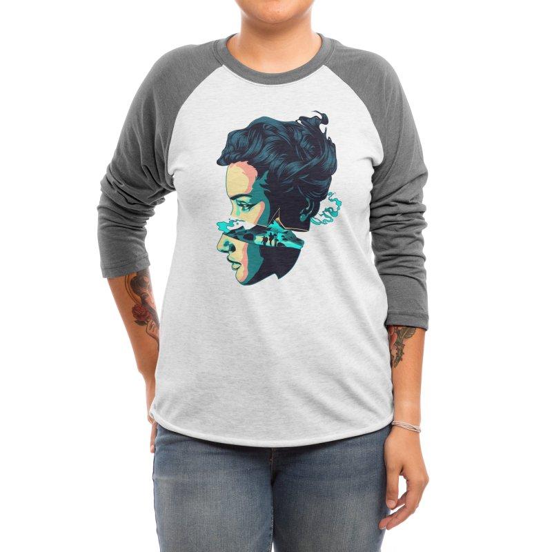 Wanderlust Dream Women's Longsleeve T-Shirt by HeyMoonly's Artist Shop