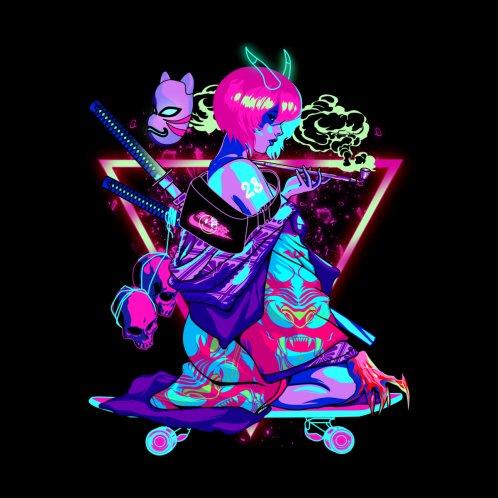 Design for Demon Funky Skate Geisha