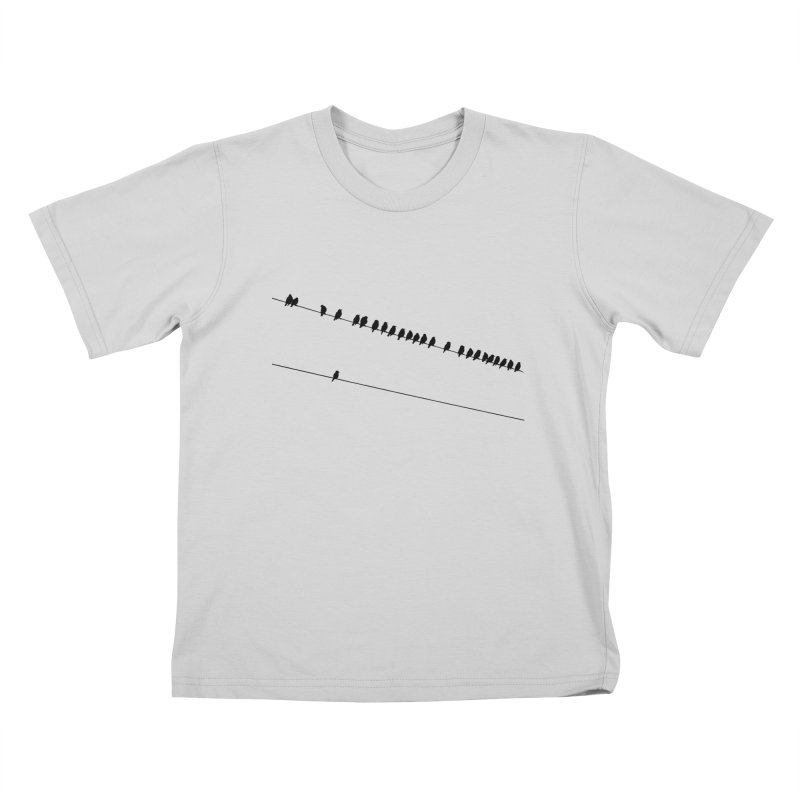 Need More Followers Kids T-Shirt by Howard Forrester's Artist Shop