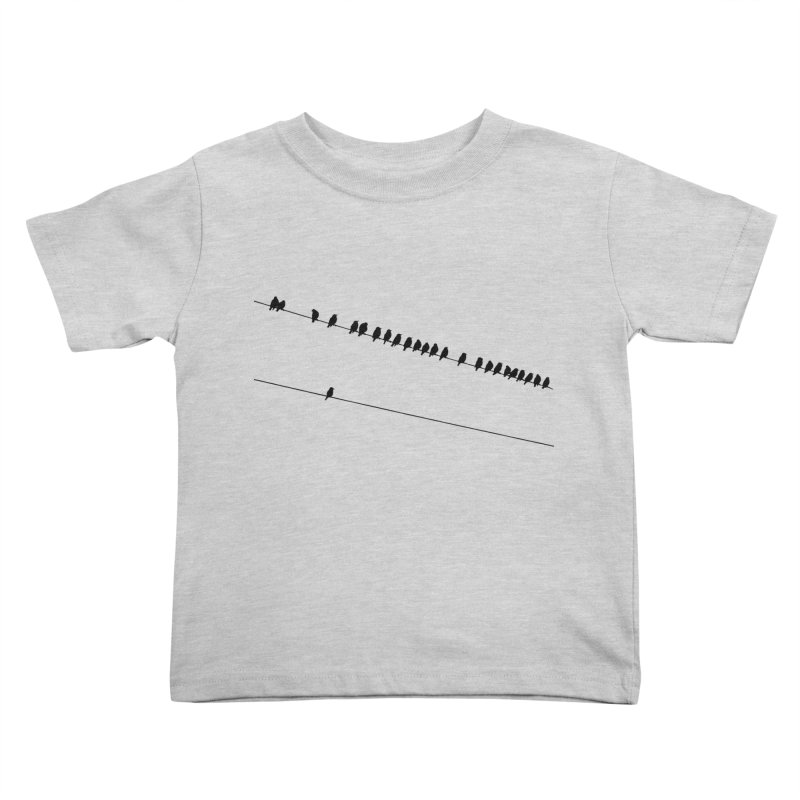 Need More Followers Kids Toddler T-Shirt by Howard Forrester's Artist Shop