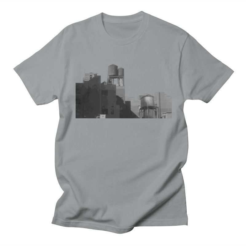 Water Towers Men's T-Shirt by Howard Forrester's Artist Shop