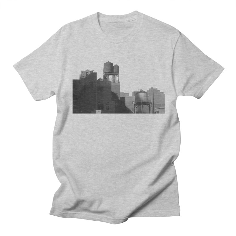 Water Towers Men's Regular T-Shirt by Howard Forrester's Artist Shop
