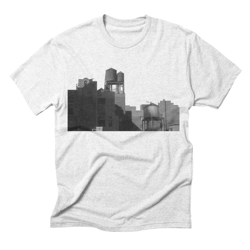 Water Towers Men's Triblend T-shirt by Howard Forrester's Artist Shop
