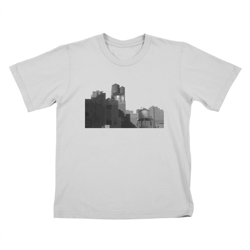 Water Towers Kids T-Shirt by Howard Forrester's Artist Shop