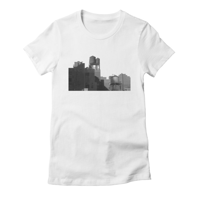 Water Towers Women's  by Howard Forrester's Artist Shop