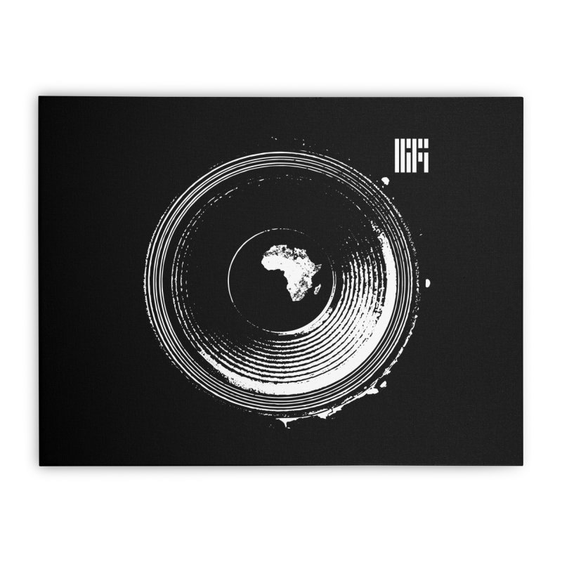 Mother HiFi (White Logo)  Home Stretched Canvas by HiFi Brand