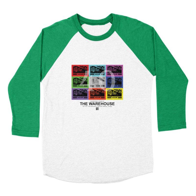 Warehouse 40th Anniversary Tile (Black Design) Women's Longsleeve T-Shirt by HiFi Brand
