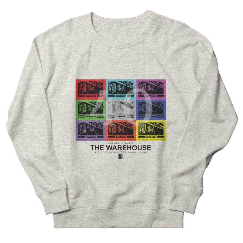 Warehouse 40th Anniversary Tile (Black Design) Women's Sweatshirt by HiFi Brand