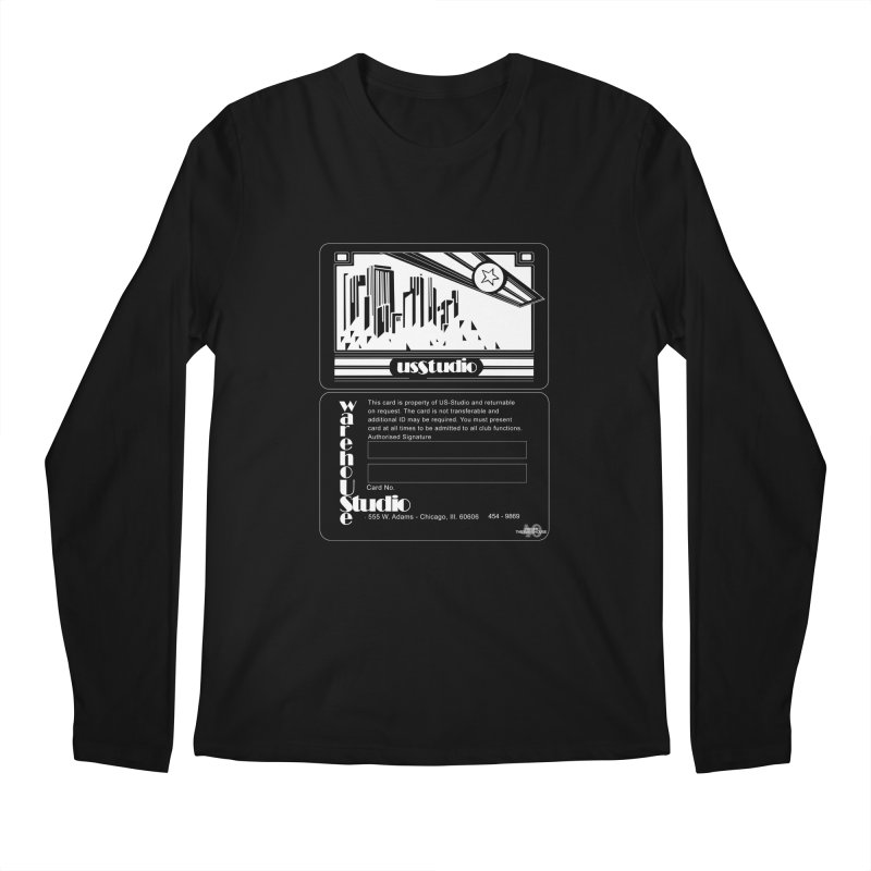 Warehouse Membership Card (White Design)  Men's Longsleeve T-Shirt by HiFi Brand