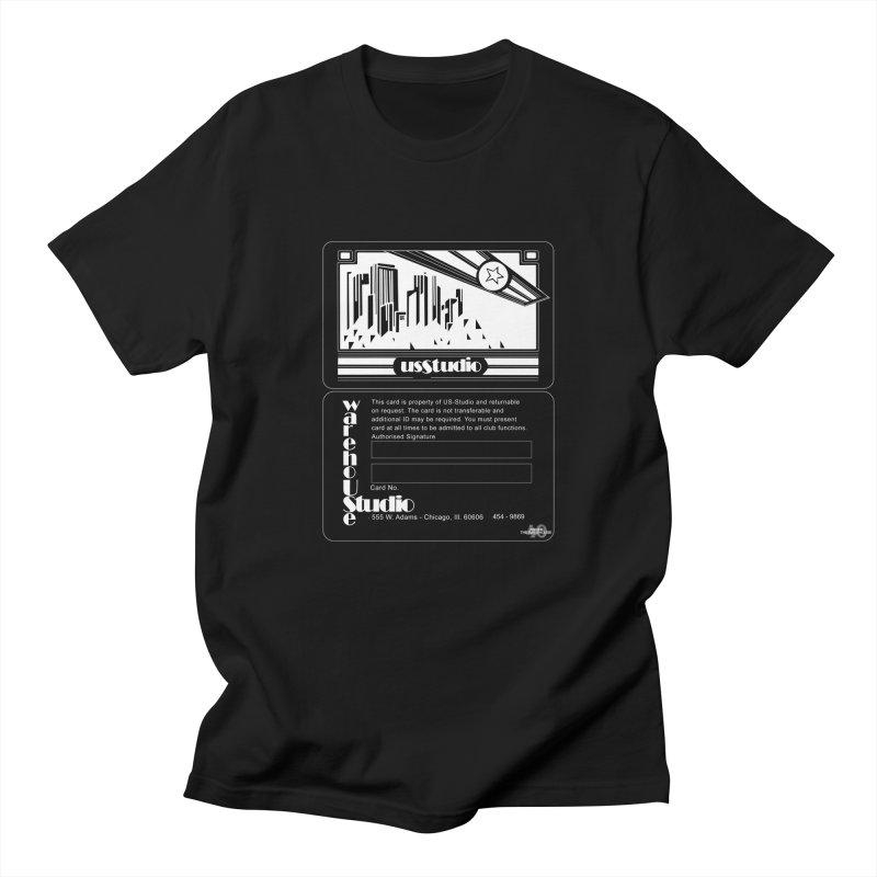 Warehouse Membership Card (White Design)  Men's T-Shirt by HiFi Brand