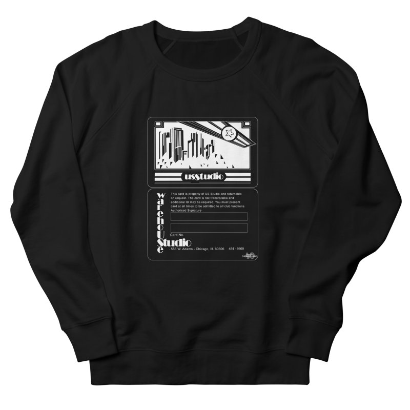 Warehouse Membership Card (White Design)  Men's Sweatshirt by HiFi Brand