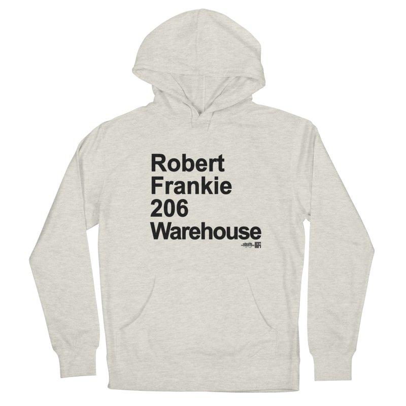 Robert Frankie 206 Warehouse (Black Design) Men's Pullover Hoody by HiFi Brand