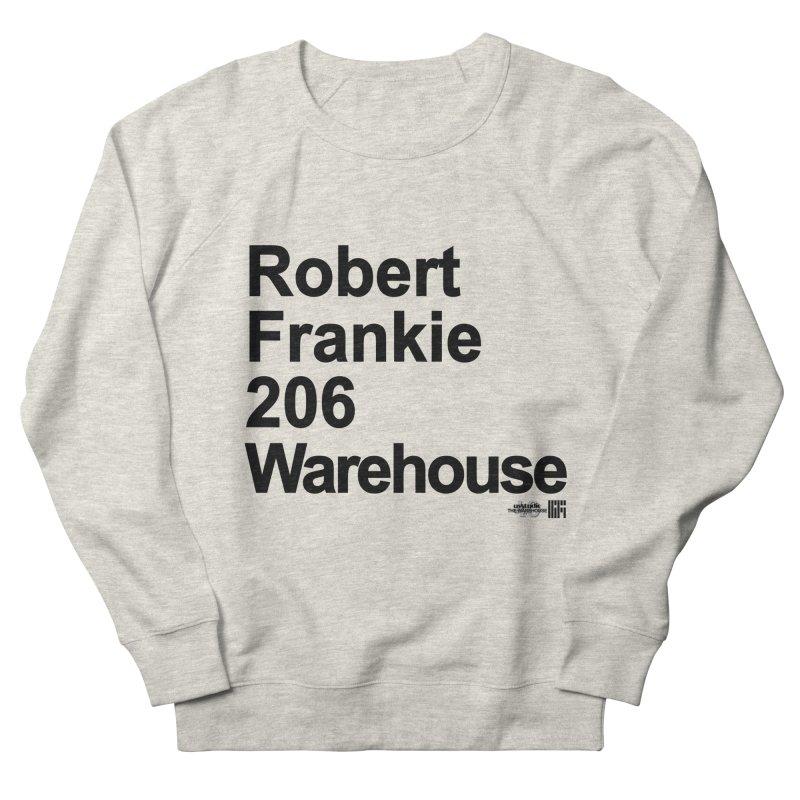 Robert Frankie 206 Warehouse (Black Design) Men's Sweatshirt by HiFi Brand