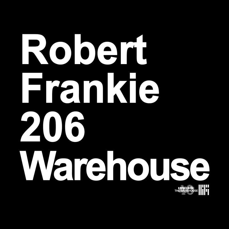 Robert Frankie 206 Warehouse (White Design) Men's Longsleeve T-Shirt by HiFi Brand