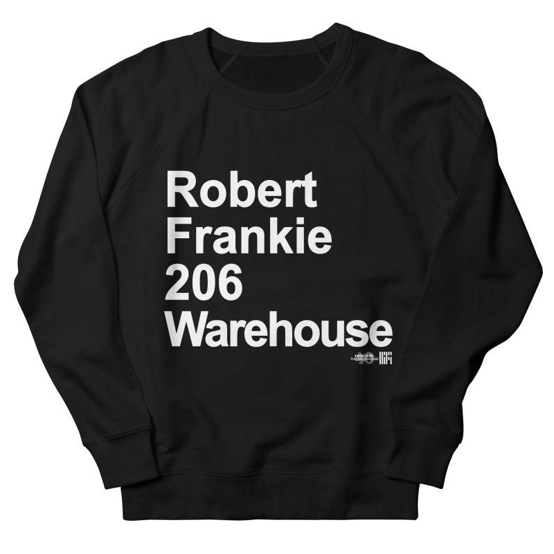 Robert Frankie 206 Warehouse (White Design) Men's Sweatshirt by HiFi Brand