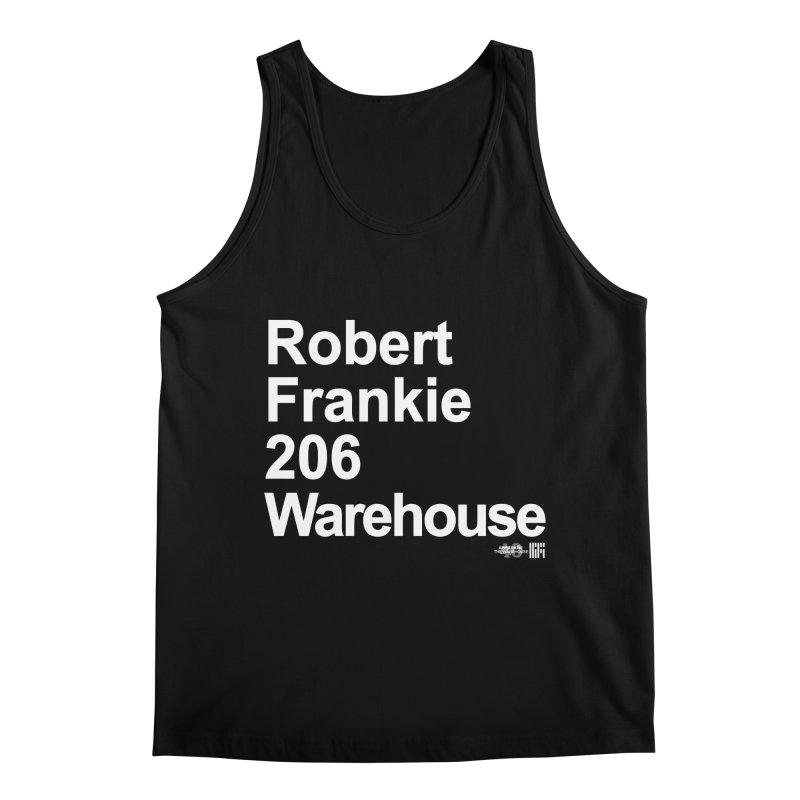 Robert Frankie 206 Warehouse (White Design) Men's Tank by HiFi Brand