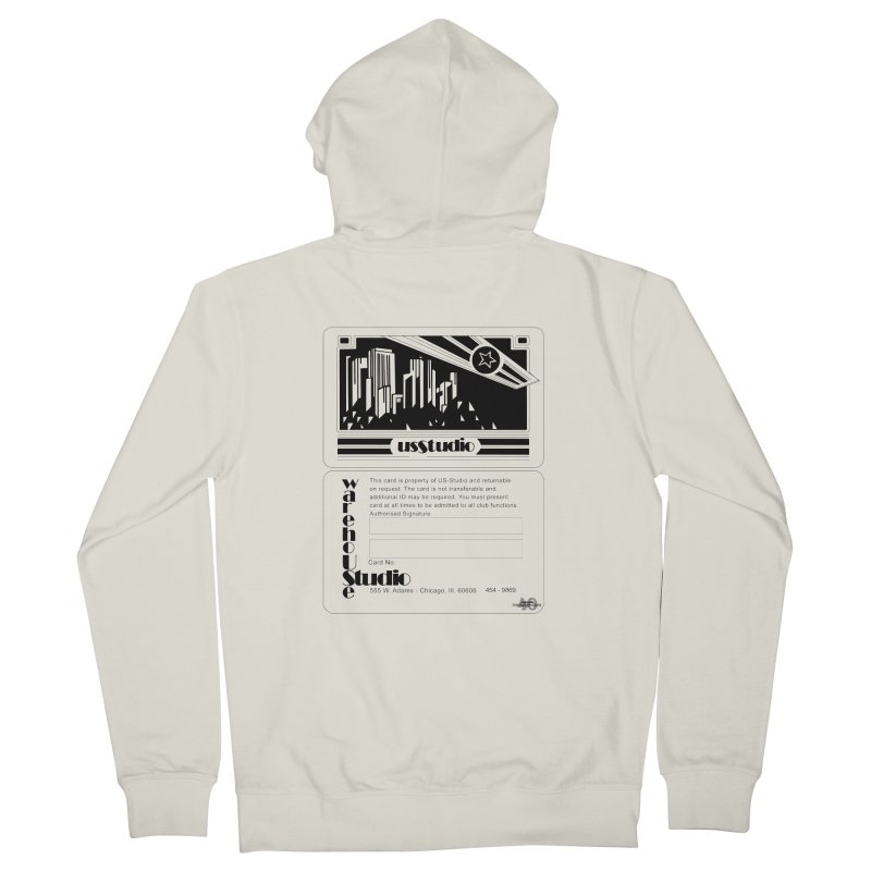 Warehouse Membership Card (Black Design) Men's Zip-Up Hoody by HiFi Brand