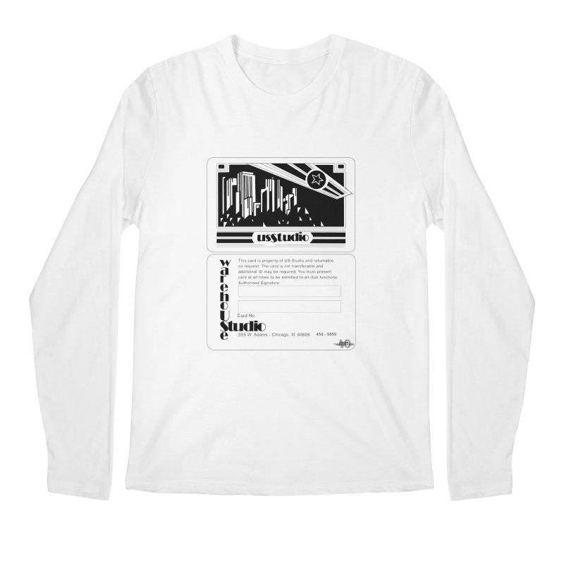 Warehouse Membership Card (Black Design) Men's Longsleeve T-Shirt by HiFi Brand