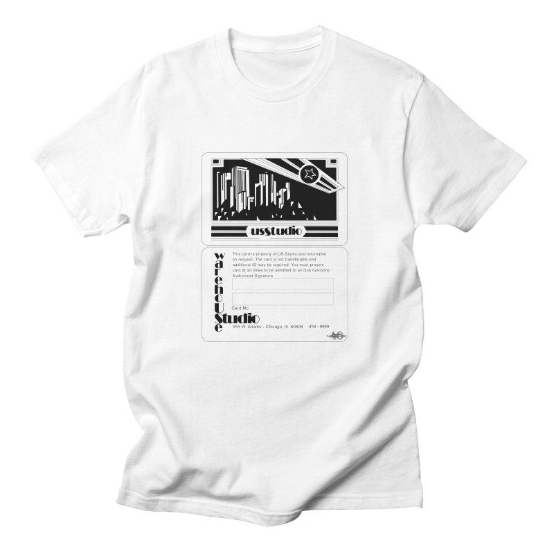 Warehouse Membership Card (Black Design) Men's T-Shirt by HiFi Brand