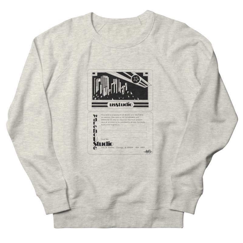 Warehouse Membership Card (Black Design) Men's Sweatshirt by HiFi Brand