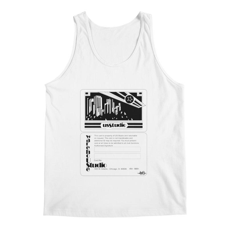 Warehouse Membership Card (Black Design) Men's Tank by HiFi Brand