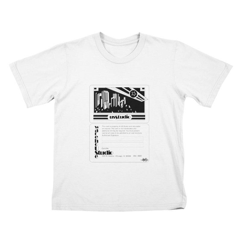 Warehouse Membership Card (Black Design) Kids T-Shirt by HiFi Brand