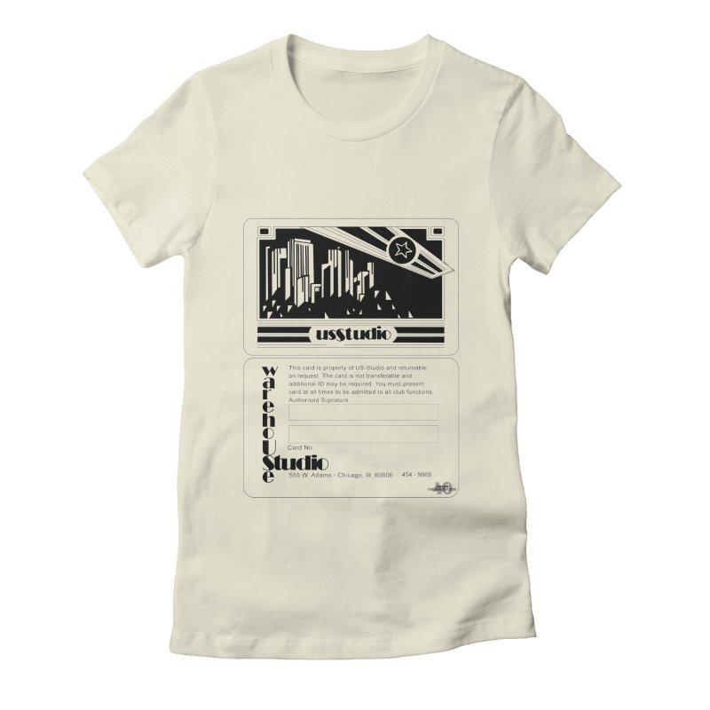 Warehouse Membership Card (Black Design) Women's T-Shirt by HiFi Brand