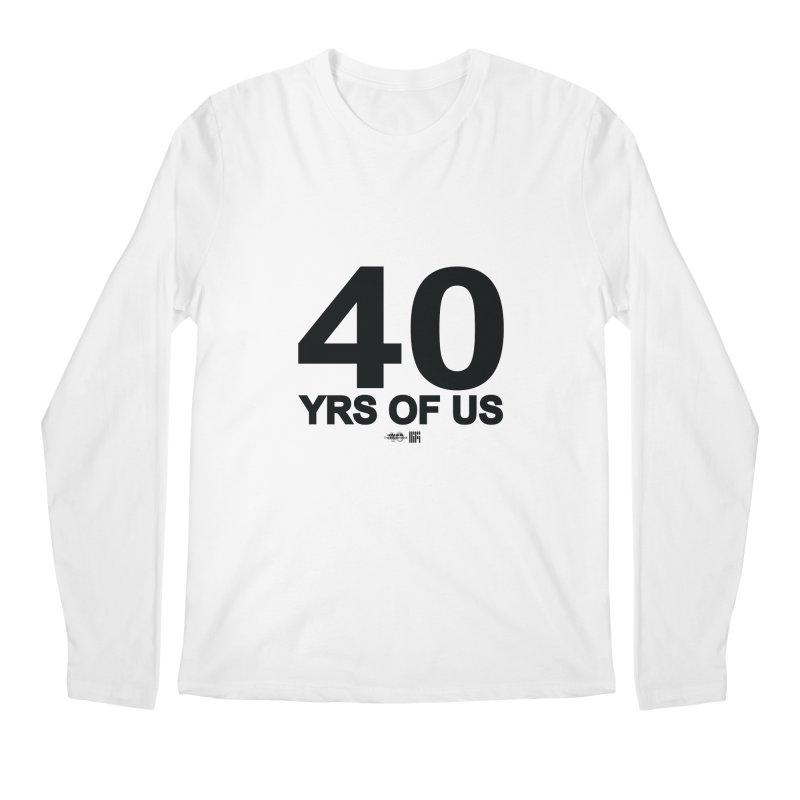 40 Yrs Of US Studio (Black Design) Men's Longsleeve T-Shirt by HiFi Brand