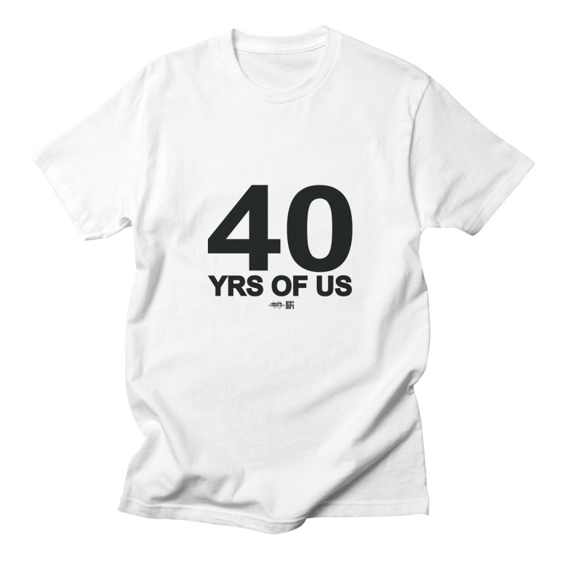 40 Yrs Of US Studio (Black Design) Men's T-Shirt by HiFi Brand