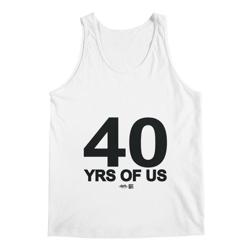 40 Yrs Of US Studio (Black Design) Men's Tank by HiFi Brand