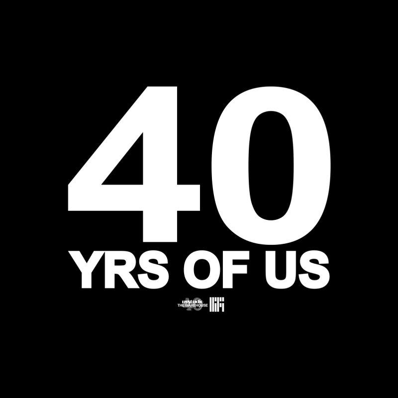 40 Yrs Of US Studio (White Design) Men's T-Shirt by HiFi Brand