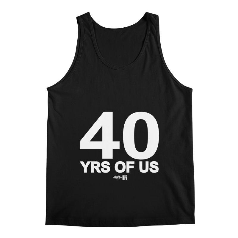 40 Yrs Of US Studio (White Design) Men's Tank by HiFi Brand