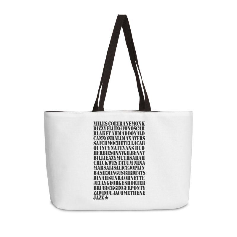 The Greats (Black Design)  Accessories Bag by HiFi Brand