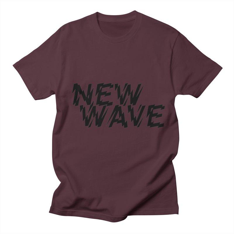 New Wave (Black Design) Men's T-Shirt by HiFi Brand