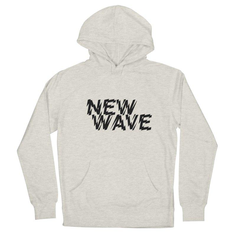 New Wave (Black Design) Men's Pullover Hoody by HiFi Brand
