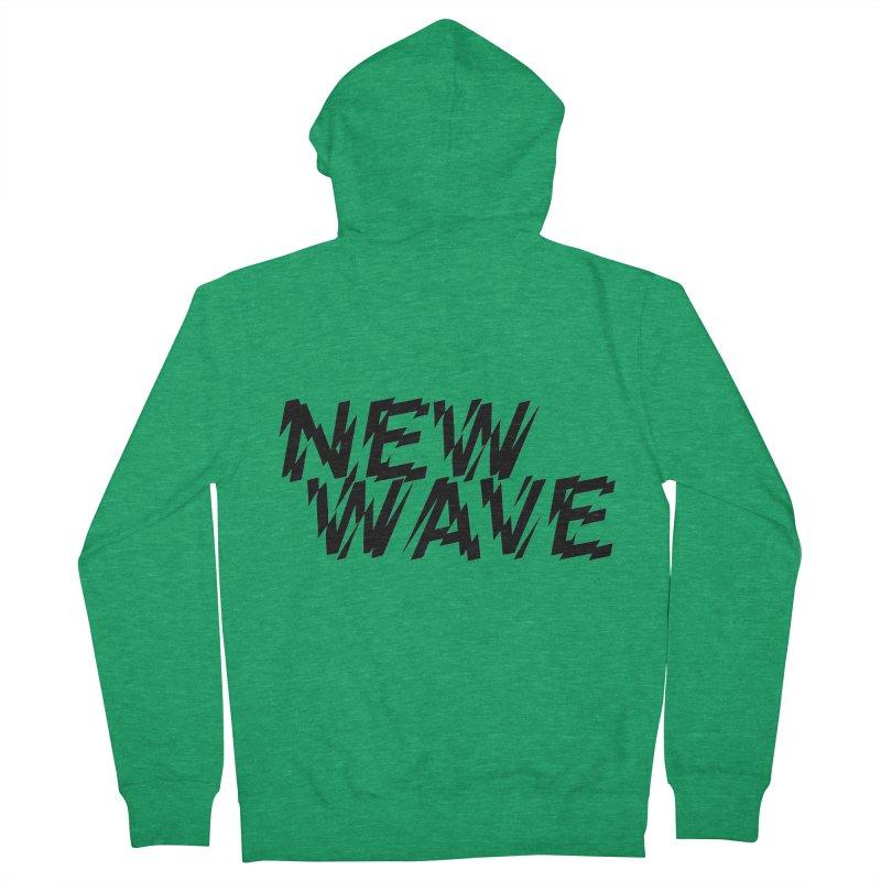 New Wave (Black Design) Women's Zip-Up Hoody by HiFi Brand