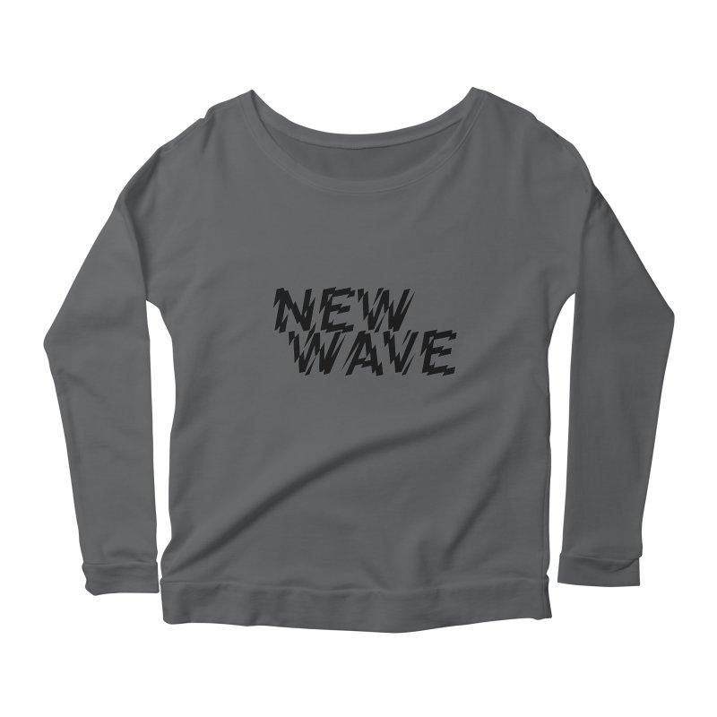 New Wave (Black Design) Women's Longsleeve T-Shirt by HiFi Brand