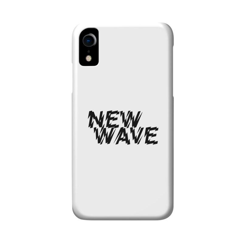 New Wave (Black Design) Accessories Phone Case by HiFi Brand